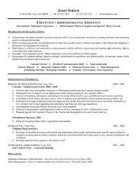 Administrative Sample Resume  sample government resume