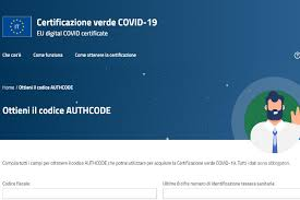 Green pass Italia, authocode non ricevuto: come ottenerlo