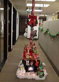 office christmas decorating. The Office Holiday Pole Decorating Contest | Mid-Century Modern Intended For Christmas O