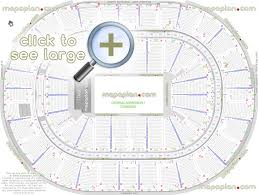 Superdome Seating Chart With Row Numbers Smoothie King Center Arena Seat Row Numbers Detailed