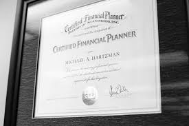 Elegant Photograph Of Financial Planner Certification Business