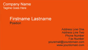 visting card format businesscardland basic business card template