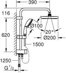 <b>Душевая система Grohe New</b> Tempesta Rustic 27399002 - купить ...