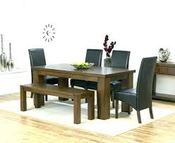 dining room sets with bench dark wooden dining tables dark wood dining room set dining room