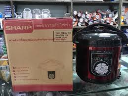 Nồi áp suất Sharp KS-180S 6L 1000W (Đỏ)