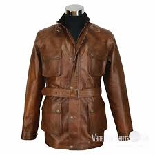 50s men s jackets jackets leather er gaberdine men vintage antique brown