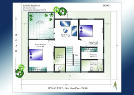 25 30 house plan awesome south facing home plans new 25 awesome 40 x 40 duplex