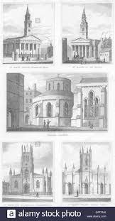 LONDON CHURCH:St.John,Waterloo; St.Martin-Fields;Temple;St.Mark Stock Photo  - Alamy