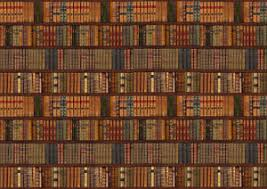 Image is loading LIBRARY-BOOKCASE-SHELF-SHELVES-OLD-BOOKS-Photo-Wallpaper-
