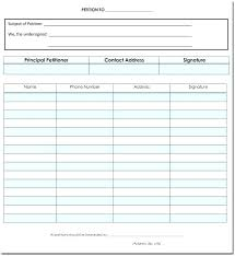 Template For Petition Petition Sheet Template Petition Template Petition Sheet Example