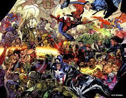 All Marvel Comics Together HD Desktop ...