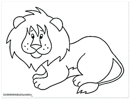 Rainforest Animals Coloring Pages Printable Color Preschool Sheets