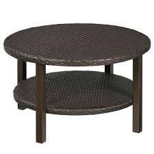 round steel outdoor coffee tables patio tables the home depot outdoor round coffee table outdoor coffee
