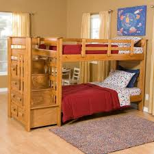 Navy Blue Bedroom Decor White Bunk Beds With Stairs Lovely Bedding Before The Gray Wall