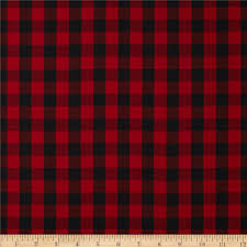 Plaid Pattern Adorable Kaufman House Of Wales Lawn Plaid Red Discount Designer Fabric