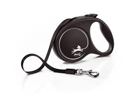 <b>Flexi Black Design</b> Tape Dog Lead | VioVet.co.uk