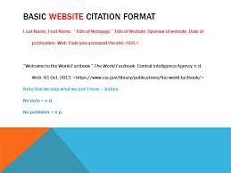 website cite mla mla citations basic website citation format last name first name