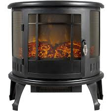 portable electric fireplace stove 1500w space heater realistic flame perfect design for corners com