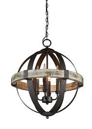 artcraft lighting castello 4 light mini chandelier rustic wood chandeliers