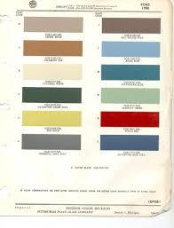 Napa Auto Paint Color Chart 1958 Ford Paint Codes