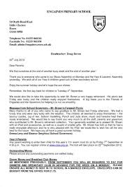 Formal Letter Heading Template Business