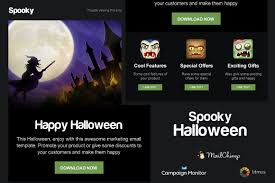 Spooky - Halloween Email Template ~ Email Templates ~ Creative Market