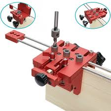 3 in 1 Woodworking Hole Drill <b>Punch</b> Positioner Guide <b>Locator</b> Jig ...