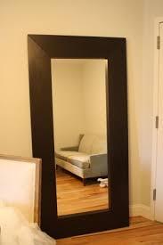 Ikea Mongstad Floor Mirror - another way to hang it