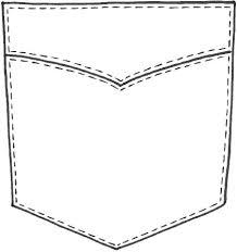 Pocket Template Shirt Pocket Drawing At Paintingvalley Com Explore