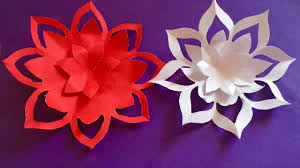 Paper Crafted Flowers Mothers Day Gift Ideas How To Make A Paper Flowers Easy Paper