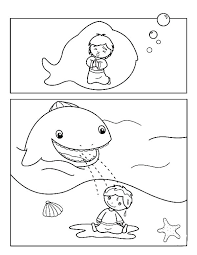 Jonah Coloring Page Coloring Page Coloring Pages Whale Coloring Page