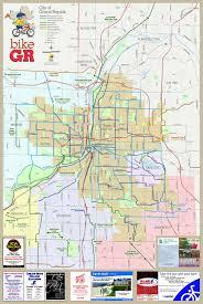 grand rapids bike map  grand rapids michigan • mappery