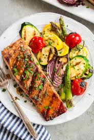 The BEST Grilled Salmon Recipe {5 ...