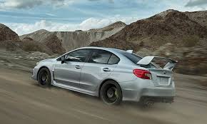 2018 subaru wrx sti black. simple wrx view of 2018 subaru wrx sti driving up a mountain inside subaru wrx sti black