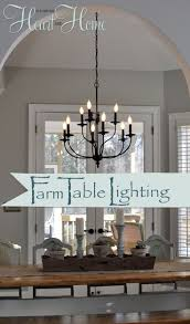 dining lighting. lighting over the farmhouse tablethe winner dining f