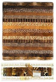 Animal Print Cuddle Quilt Kit | FaveQuilts.com & Animal Print Cuddle Quilt Kit Adamdwight.com