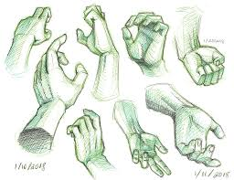 drawing tools. As The Name Suggests, It Was Developed Drawing Reference For Hands. I Actually Used To Create Titled \u201c Tools