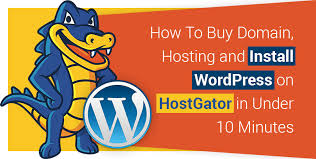 How To Buy A Domain How To Buy Domain Hosting And Install Wordpress On Hostgator 2017