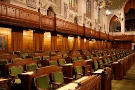 the governing party sits to the speaker s right in the house of commons