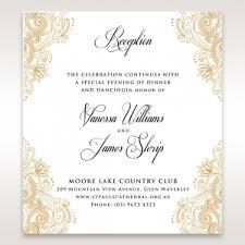 wedding reception card wedding reception invitations to match your theme