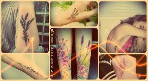 лаванда тату значение смысл история и фото рисунков татуировки