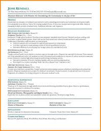 15 Artist Cv Examples Actionplan Templated