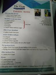 What Is Event Prepare A Diet Chart Provide Balanced Diet To