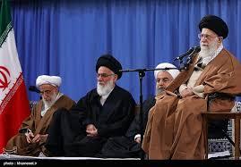 Image result for رهبر انقلاب در دیدار مسئولان نظام و میهمانان کنفرانس وحدت اسلامی