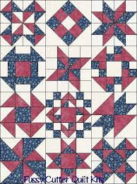 Best 25+ Sampler quilts ideas on Pinterest | Patchwork patterns ... & Sampler Blocks of the Month Your Choice of Colors Fabric Easy Pre-Cut Quilt  Top Adamdwight.com