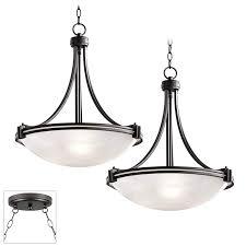 Possini Pendant Lights Possini Euro Design Deco Bronze Double Multi Light Pendant