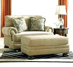 Oversized Chair With Ottoman Living Room  Large69
