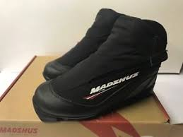 Details About Madshus Ct 100 Ski Boot Cross County Nordic Touring Boots Eu 35 Mens 3 Women 4