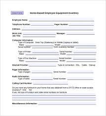 Employee Equipment Check Out Form | Nfcnbarroom.com