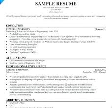Electrical Engineering Sample Resume Marine Electrical Engineer